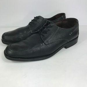 Johnston & Murphy 10 M Mens Shoes Sheepskin Lace